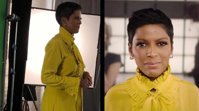 Tamron Hall behind the scenes