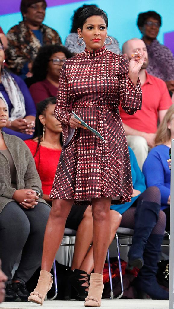 Dress by Marrisa Wilson // Shoes by Alaia // Earrings by Jennifer Miller