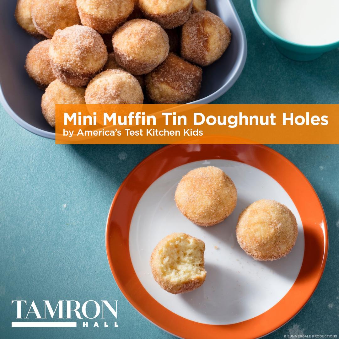 Mini Muffin Tin Doughnut Hole