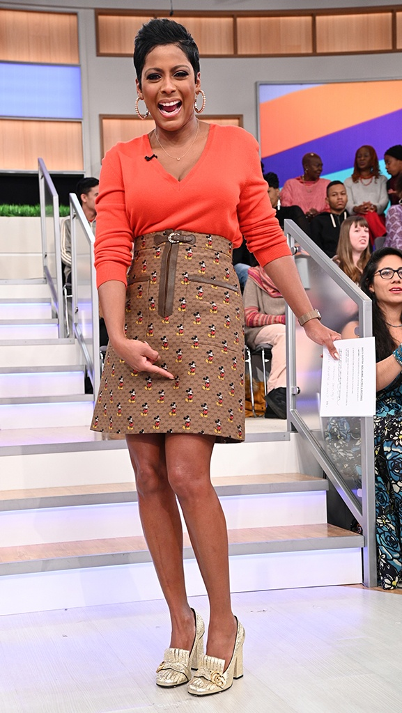 Sweater by Bottega Veneta // Skirt by Gucci/Disney Collaboration // Shoes by Gucci