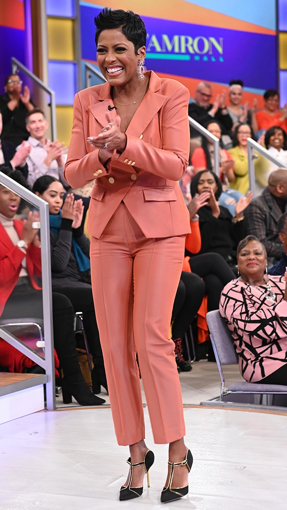 Pantsuit by Denzel Parris // Jewelry by Jennifer Miller // Shoes by Malone Souliers